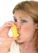 Asthma from exposure to black mold