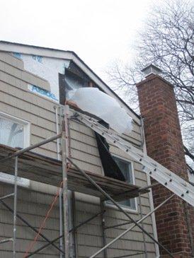 attic mold negative air machine, removing mold from attic negative air machine, attic mold remediation