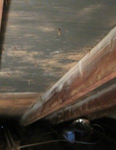 attic mold picture, mold on attic ceiling